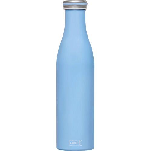 Lurch Thermoflasche, Edelstahl, 750 ml, hellblau