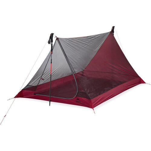MSR Zelt »Thru Hiker Mesh House 2 V2 Tent«, rot