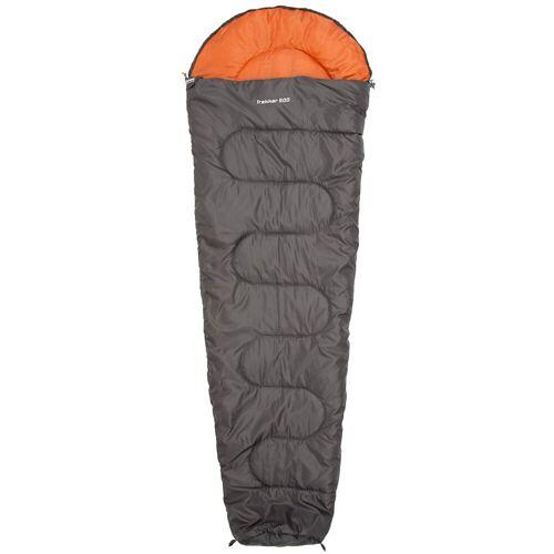 CAMPZ Schlafsack »Trekker 500 Schlafsack«, grau