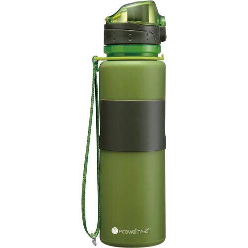 ecowellness Trinkflasche, faltbar