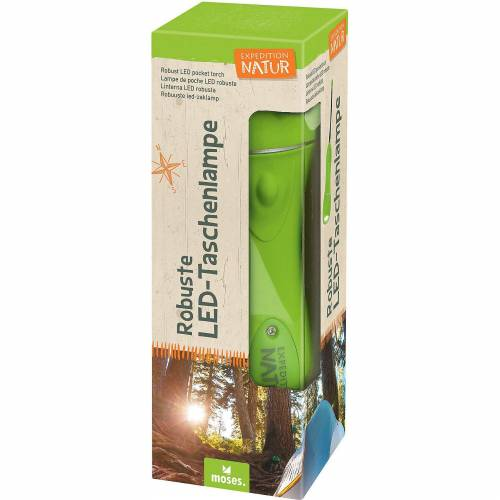 moses Expedition Natur: Robuste Taschenlampe