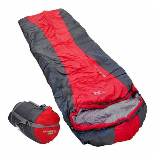 yellowstone Mumienschlafsack »Trail Lite Classic 300 Schlafsack rot 210 x 80 cm in rot«
