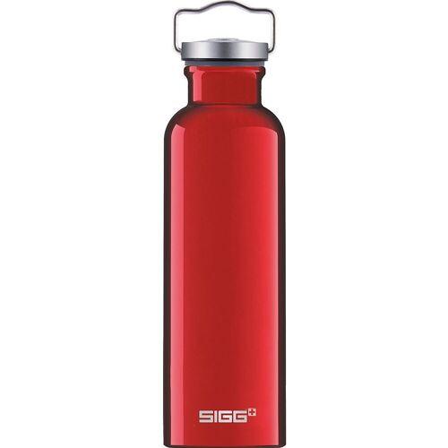 Sigg Trinkflasche »Alu-Trinkflasche ORIGINAL Alu, 750 ml«, rot