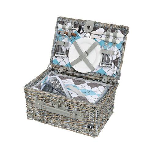Cilio Picknickkorb »Picknickkorb für 2 Personen STRESA«, Picknickkorb