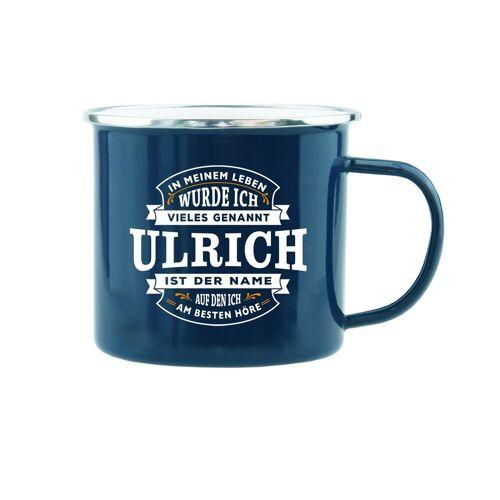 HTI-Living Becher »Echter Kerl Emaille Becher Ulrich«