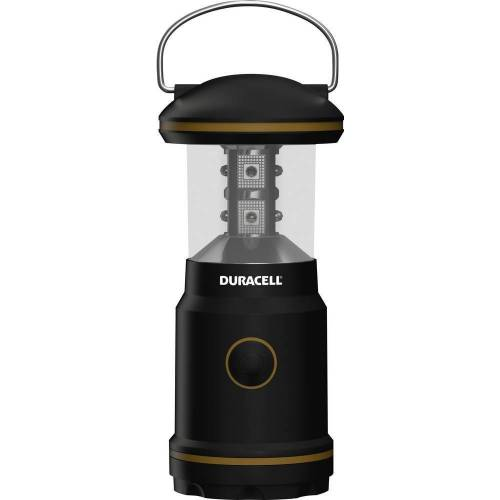 Duracell LED Laterne, LED Camping Laterne inkl. Batterien 65lm Taschenlampe Lampe Outdoor