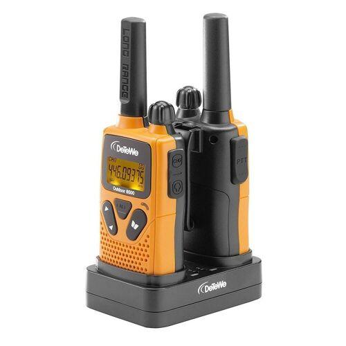 DeTeWe Funkgerät »Outdoor 8500 Funkgerät orange/grau«