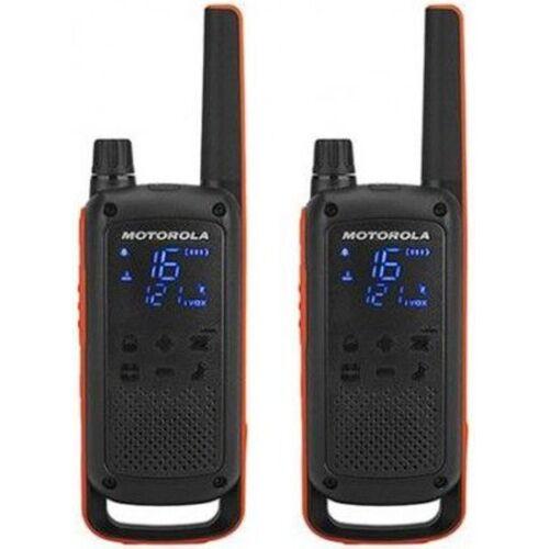 Motorola Funkgerät »Funkgerät TALKABOUT T82«, Orange-Schwarz