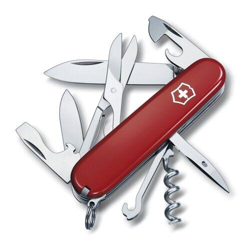 Victorinox Multi-Tool »Taschenmesser Climber«, Taschenmesser, Rot