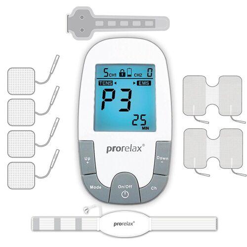 prorelax TENS-EMS-Gerät »85835 SUPER DUO Plus«, 2 Therapien mit einem Gerät