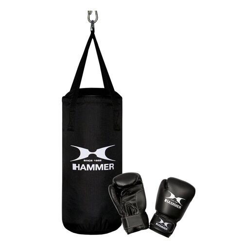 Hammer Boxsack »Junior« (Set, 2-tlg., mit Boxhandschuhen)