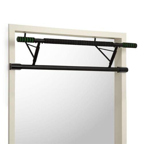 KLARFIT Klimmzugstange »In-Door Klimmzugstange Türrahmenaufhängung 130kg EVA-Pads Stahl schwarz«