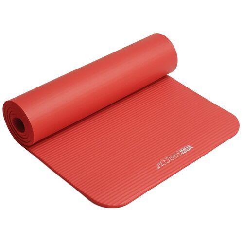 Yogistar Gymnastikmatte »Gym 10mm«, red