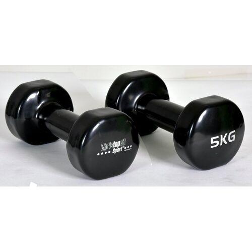Christopeit Sport® Hantel, 10,0 kg, (2-tlg)