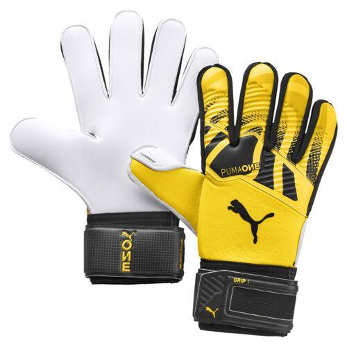 Puma Torwarthandschuhe »ONE Grip 1 Fußball Torwarthandschuhe«, gelb