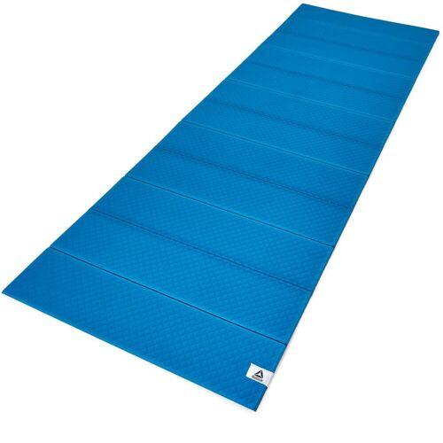 Reebok Yogamatte »Folded 6mm Yoga Mat«, Blue