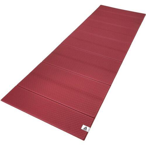Reebok Yogamatte »Folded 6mm Yoga Mat«, Rustic Wine