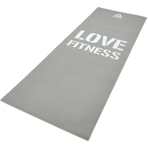 Reebok Fitnessmatte »Fitness Mat - Grey Love«