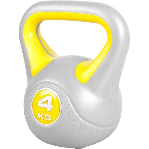 GORILLA SPORTS Kettlebell »Kettlebell Stylish Kunststoff 4 kg«, 4 kg
