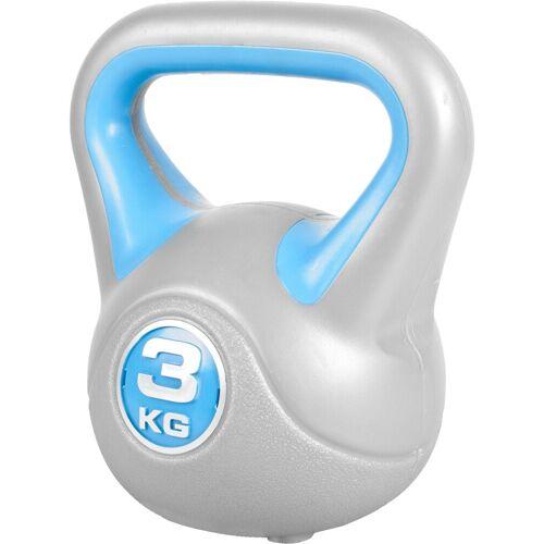 GORILLA SPORTS Kettlebell »Kettlebell Stylish Kunststoff 3 kg«, 3 kg