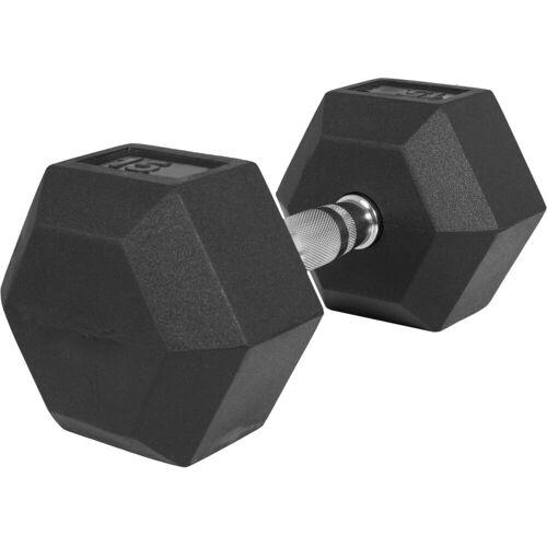 GORILLA SPORTS Kurzhantel »Hexagon Kurzhantel Gummi 15 kg«, 15 kg