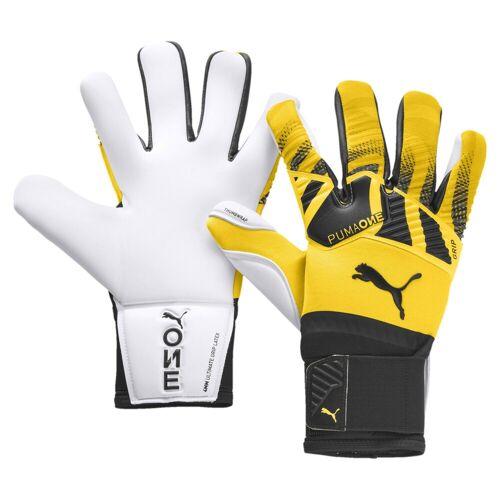 Puma Torwarthandschuhe »ONE Grip 1 Hybrid Pro Fußball Torwarthandschuhe«, gelb