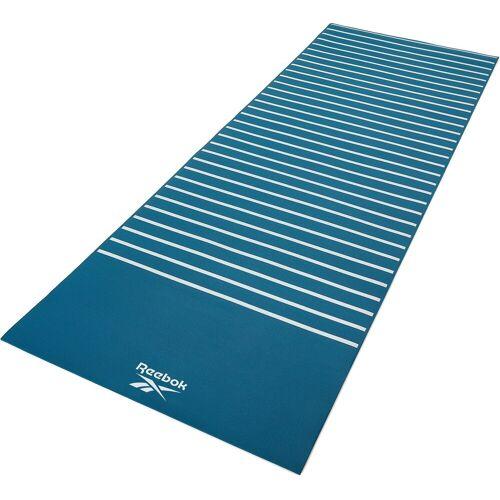 Reebok Yogamatte »Yogamatte mit Streifen- beidseitig, rutschfest«