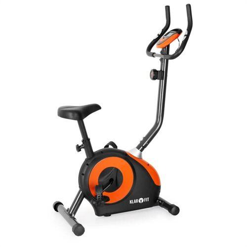 KLARFIT Fahrradtrainer »Mobi FX 250 Fahrrad-Heimtrainer Ergometer Pulsmesser max. 100 kg«, Orange