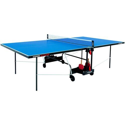 Stiga Tischtennisplatte »Winner Outdoor«, BxLxH: 152,5x274x76 cm, blau