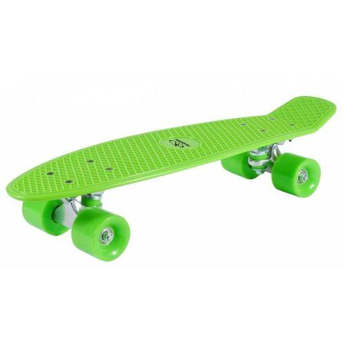 Hudora Skateboard »Retro Kinder Skateboard - lemon green - 57 cm x 15 cm«