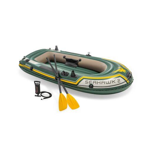 Intex Schlauchboot »68347 Boot Seahawk 2 Schlauchboot Paddel Pumpe Boot-Set«, (1), 236x114x41cm