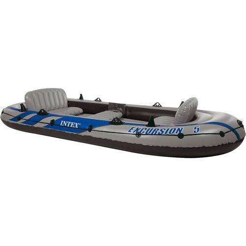 Intex Schlauchboot »Schlauchboot Excursion 5 Set, 4-tlg.«
