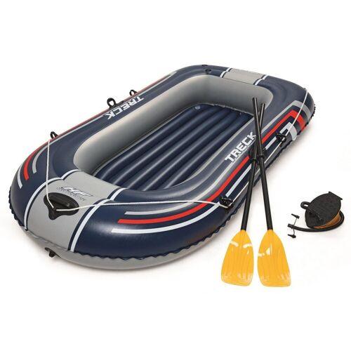 Bestway Schlauchboot »Hydro-Force Schlauchboot-Set Treck X1«, (mit 2 Paddeln und Luftpumpe)