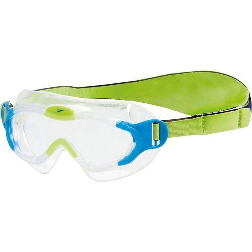 Speedo Taucherbrille »Taucherbrille SEA SQUAD«, blau/grün