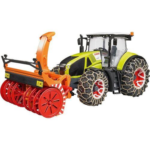 Bruder® Spielzeug-Auto »Claas Axion 950 mit Schneeketten und Schneefräse«