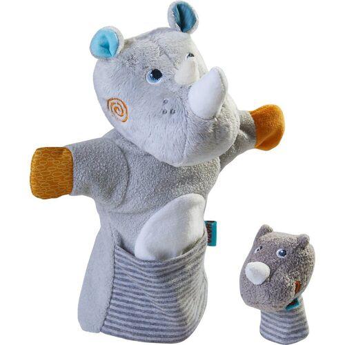 Haba Handpuppe »305755 Handpuppe Nashorn mit Baby«