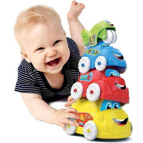 Clementoni® Stapelspielzeug »Baby - Stapelautos«