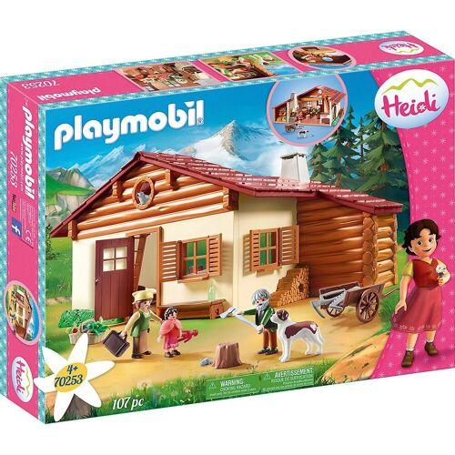 Playmobil Spielfigur »70253 Heidi und Großvater auf der«