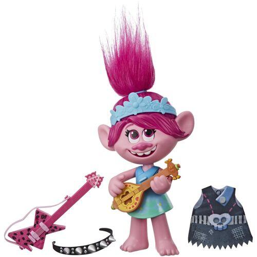 Hasbro Anziehpuppe »DreamWorks Trolls World Tour, Pop & Rock Poppy« (Set, 6-tlg), mit Sound