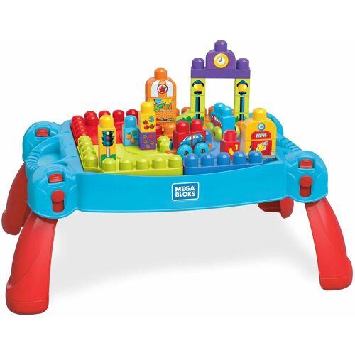 MEGA BLOKS Spieltisch »Bau- und Spieltisch, 30 Teile«