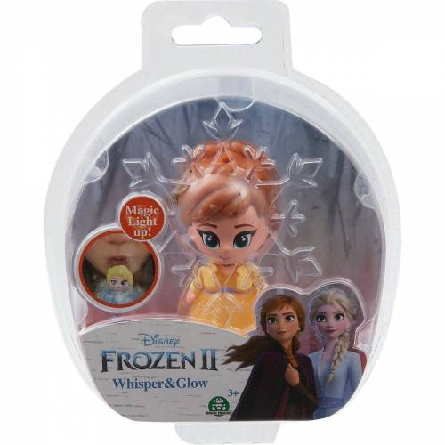 Giochi Preziosi Spielfigur »Disney Die Eiskönigin 2 Leuchtfigur Anna braun 7cm«, gelb