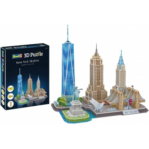 Revell® 3D-Puzzle »New York Skyline«, 123 Puzzleteile