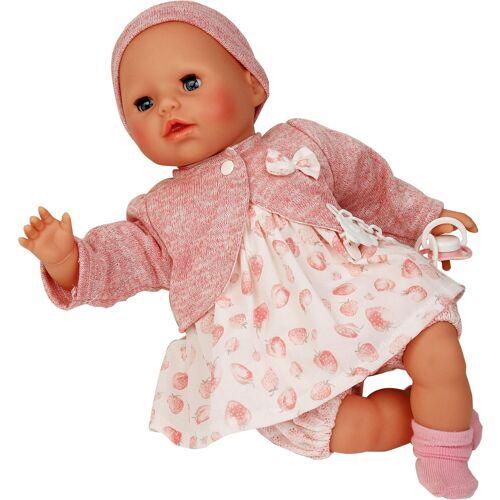 Schildkröt Manufaktur Babypuppe »Amy, rose/weiß«, Made in Germany