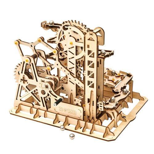 ROKR 3D-Puzzle »Kugelbahn / Marble Run«, 233 Puzzleteile