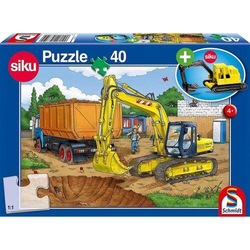 Schmidt Spiele Puzzle »Siku Puzzle 40 Teile Bagger«, Puzzleteile
