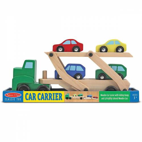 Melissa & Doug Spielzeug-Auto »Autotransporter aus Holz«