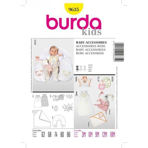 SCHÖNER LEBEN. Stoff »Burda Schnittmuster 9635 Baby Accessoires«