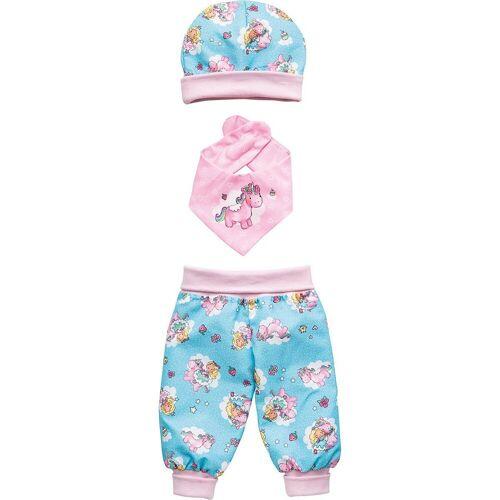 Heless Puppenkleidung »Puppenbaby-Outfit Einhorn Emil & Fee Emma,«