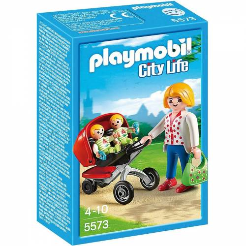 Playmobil Spielfigur »5573 Zwillingskinderwagen«