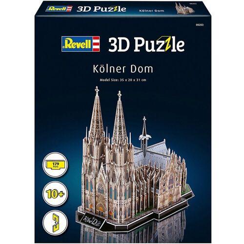 Revell® 3D-Puzzle »3D-Puzzle Kölner Dom, 179 Teile«, Puzzleteile